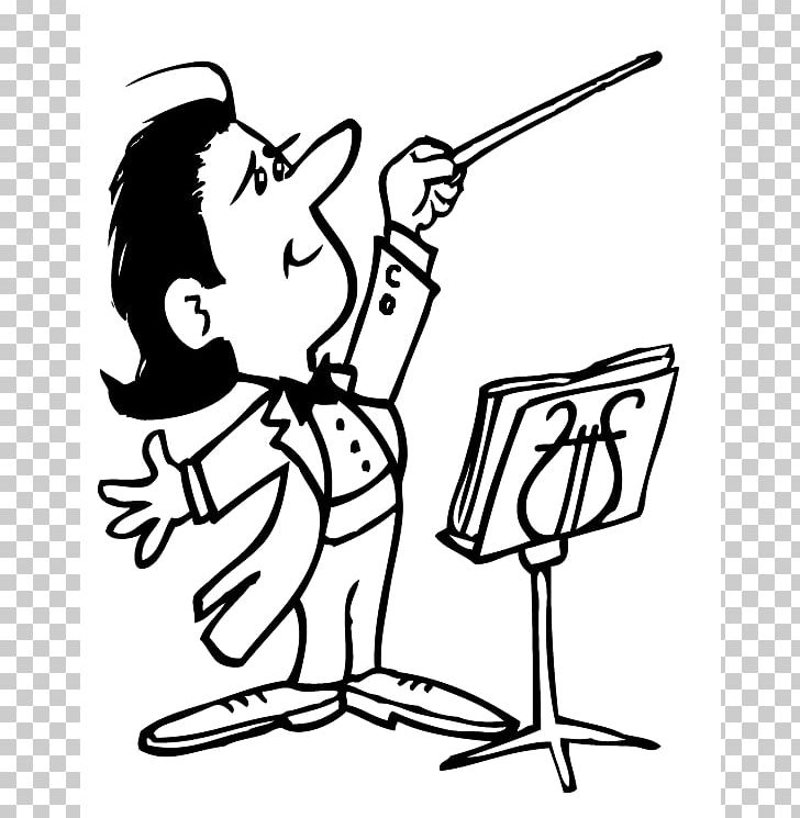 Conductor Orchestra Cartoon Musical Ensemble PNG, Clipart, Arm, Art.