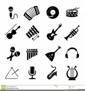 Free Clipart Band Instruments.