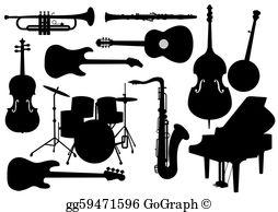 Musical Instruments Clip Art.