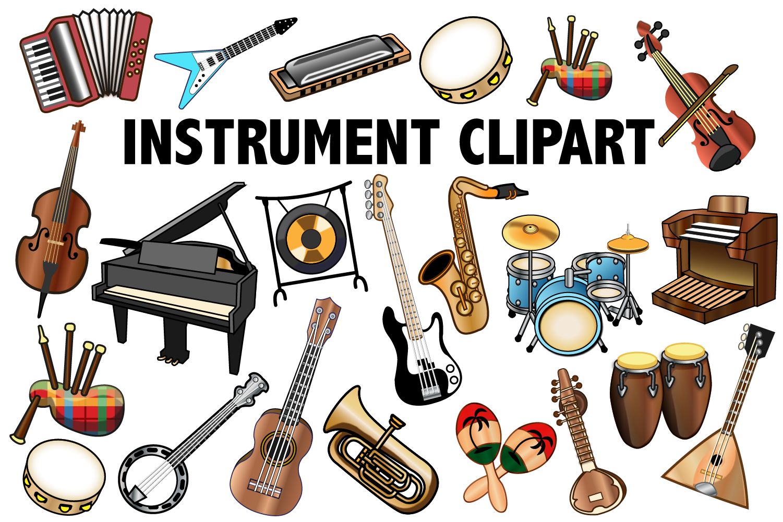 Musical Instrument Clipart.