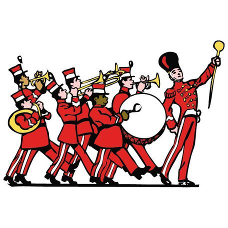 2902 Band free clipart.