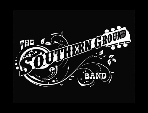 southern rock country band logo design.