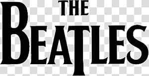 Band Logos, The Beatles text transparent background PNG clipart.