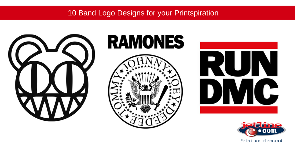 10 Band Logo Designs for your Printspiration.