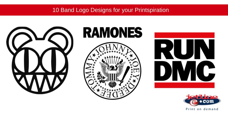10 Band Logo Designs for your Printspiration.
