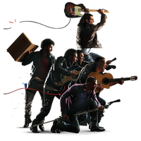 Download Rock Band Free PNG photo images and clipart.
