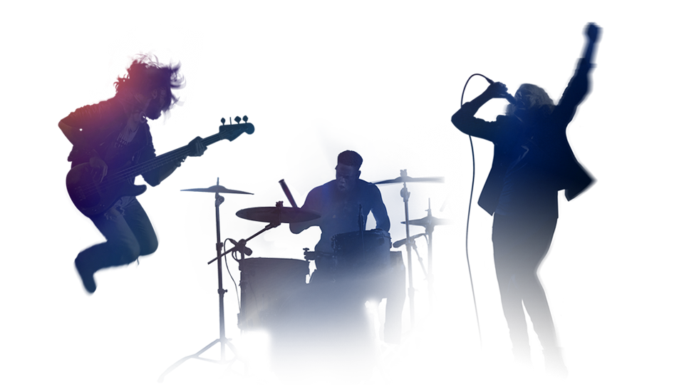 Music Band PNG Free Image.