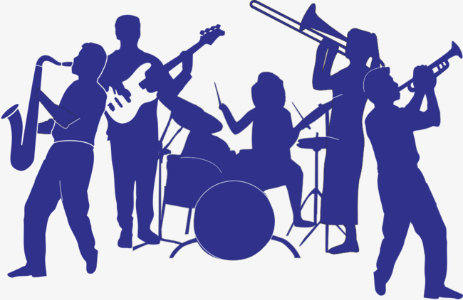 People Blue Band, People Vector, Blue Vector, Band PNG and Vector.