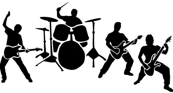 Download Rock Band PNG Transparent Image.