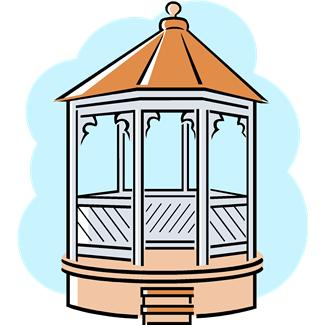 Bandstand Clipart.