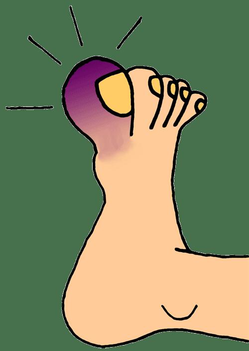 Nail clipart big toe, Nail big toe Transparent FREE for.