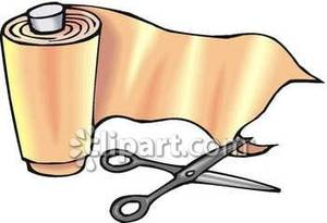 Bandage Scissors Clipart.
