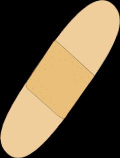 Bandaid Clip Art.