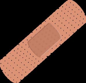 Bandaid Clipart.