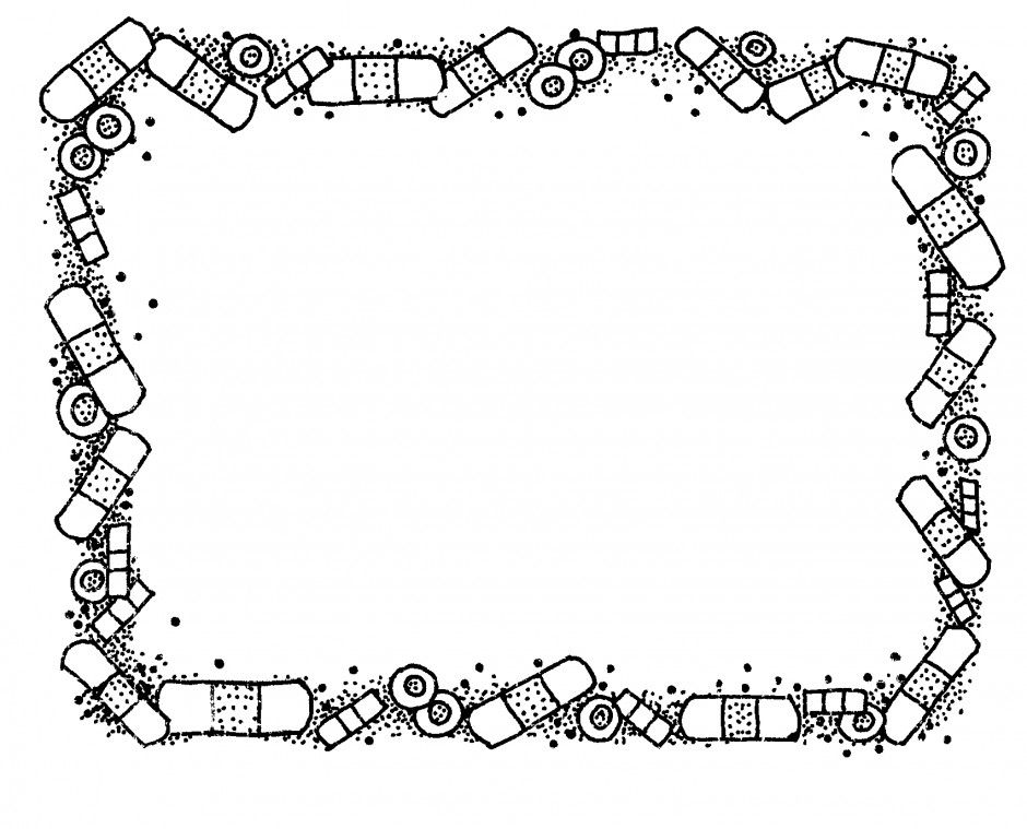 Border Bandaids Mormon Share 141536 First Aid Coloring Pages For.