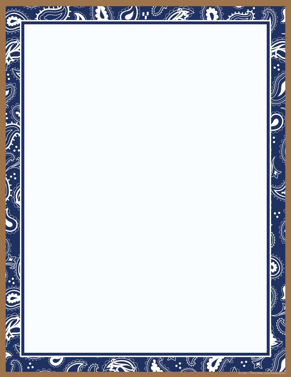 Bandana Border Clip Art For Pinterest.
