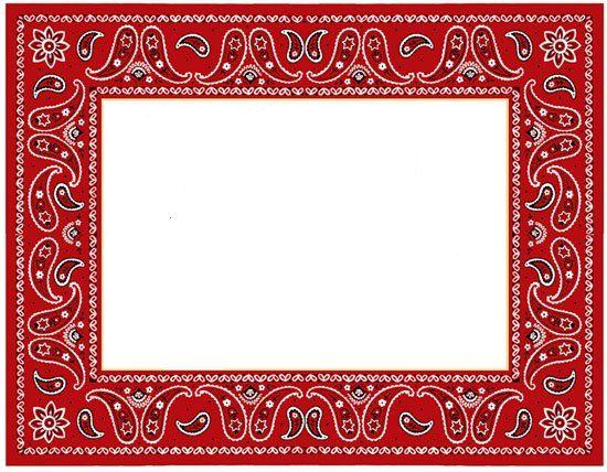 Image result for images for bandana invite.