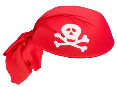 Pirate bandana clipart.