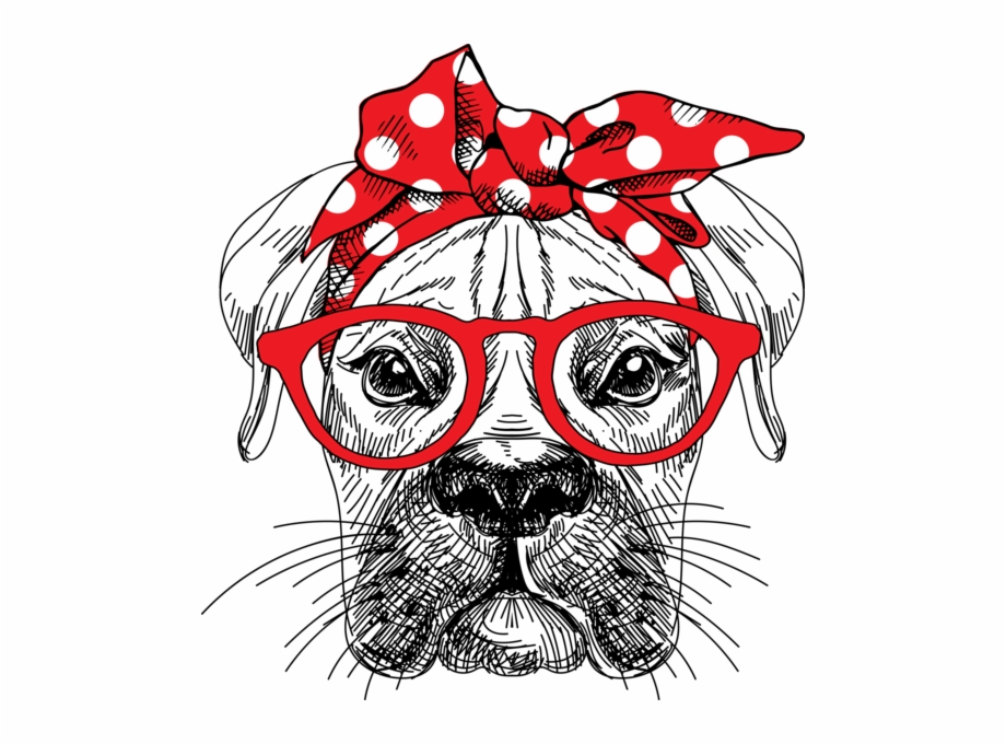Bandan Dog Shirt Bandana Headband Vector Png.