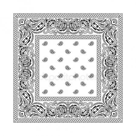 Bandana pattern Stock Vectors, Royalty Free Bandana pattern.
