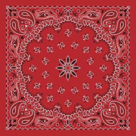 6,940 Bandana Print Stock Vector Illustration And Royalty Free.