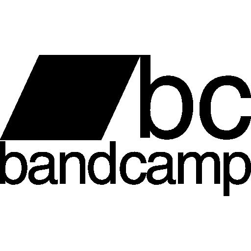 Bandcamp logotype Icons.
