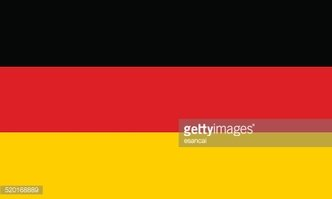 Vector Bandeira Da Alemanha imagens vetoriais.