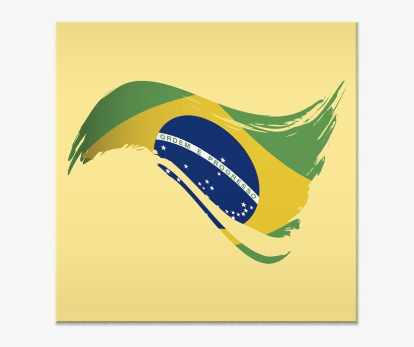 Azulejo Bandeira Do Brasil I De Lemon Pepperna.