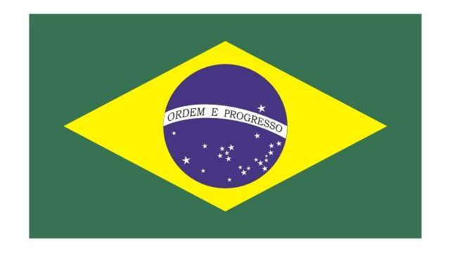 Bandeira do Brasil vetorizada em CDR.