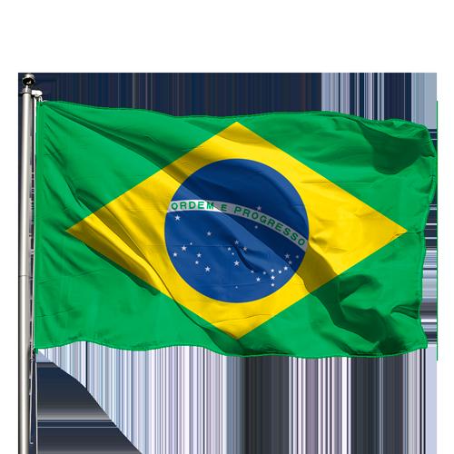 Bandeira do Brasil 0,90 X 1,28 Cm.