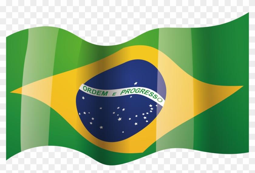 Brazil National Flag.