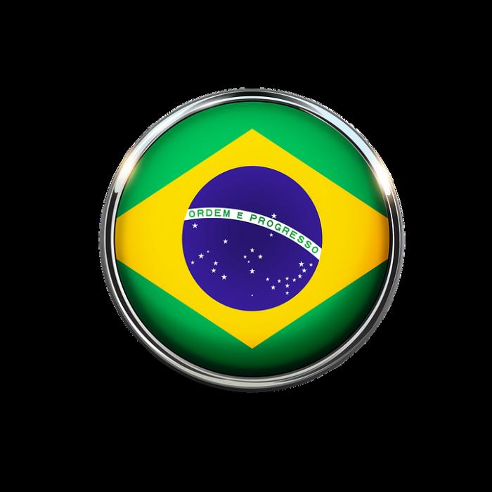 Bandeira Brasil Png Vector, Clipart, PSD.