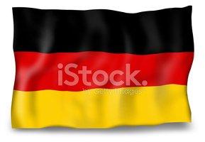 Alemanha Bandeira Ventoso Design Criativo imagens vetoriais.