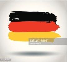 Bandeira Da Alemanha imagens vetoriais.