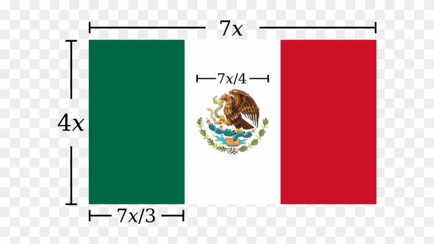 Bandeira Mexico Png.