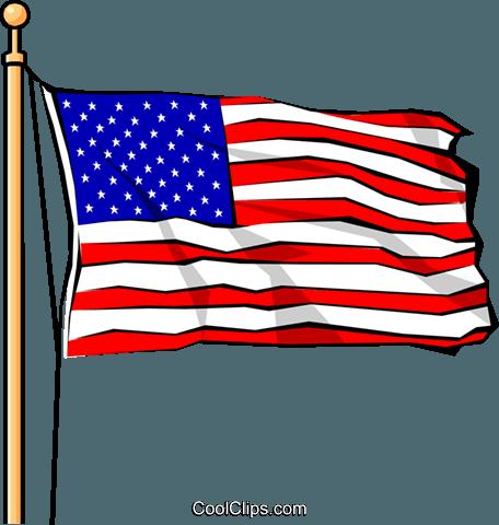 Usa Flagge Clipart.