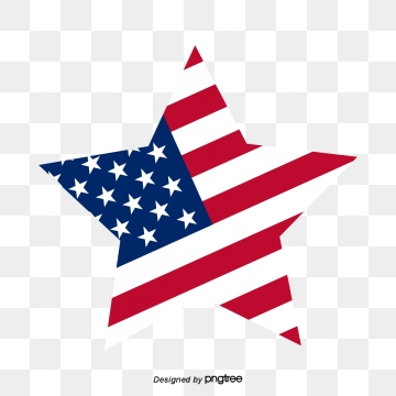Desenho Da Bandeira Dos Estados Unidos Png, Vetores, PSD e Clipart.