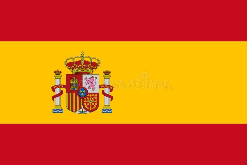 Bandeira Espanhola Ilustrações, Vetores E Clipart De Stock.