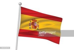 Bandeira DE Bandeira Espanhola imagens vetoriais.