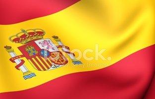 Bandeira Da Espanha imagens vetoriais.