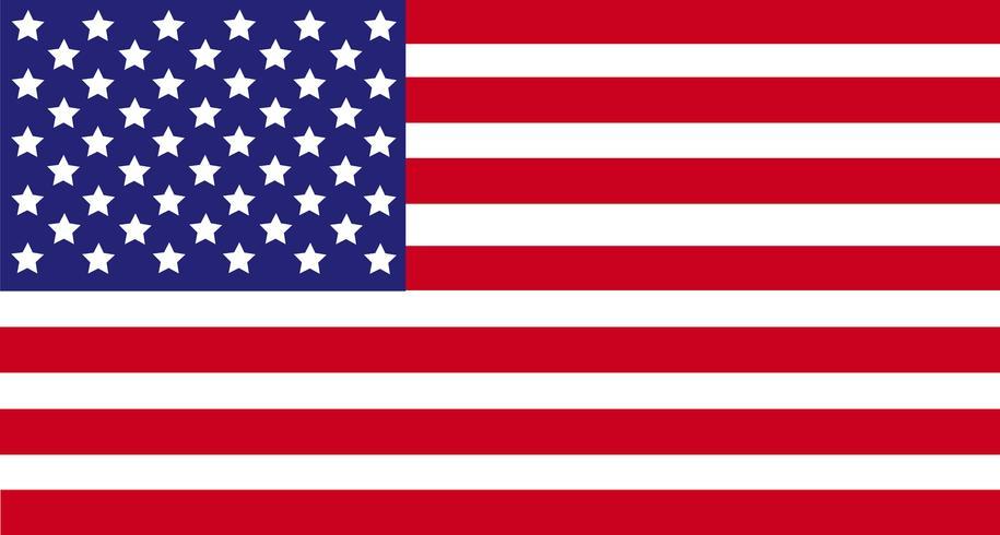 Bandeira dos Estados Unidos da América, bandeira do EUA.