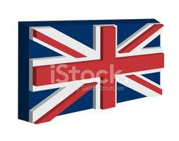 A Bandeira DE Inglaterra imagens vetoriais.