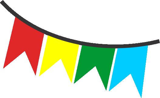Resultado de imagem para bandeiras de sao joao sem fundo.