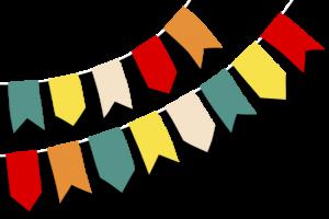 Bandeira junina png 7 » PNG Image.