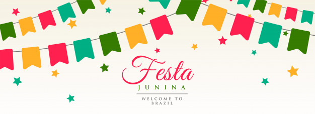 Festa junina bandeiras guirlanda decoração bandeira.