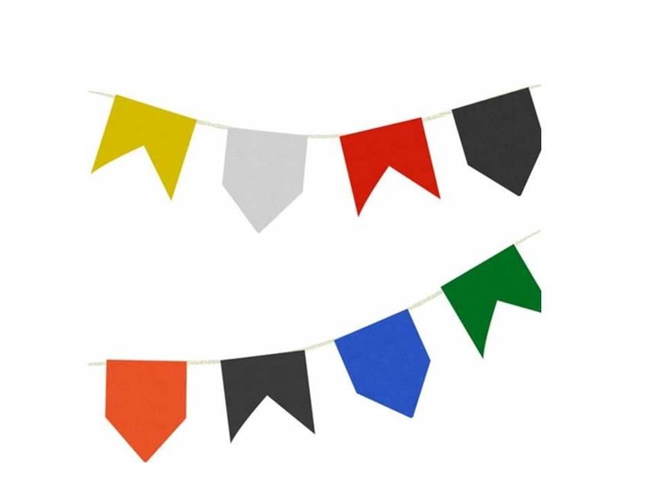 Bandeiras Festa Junina em E.V.A.