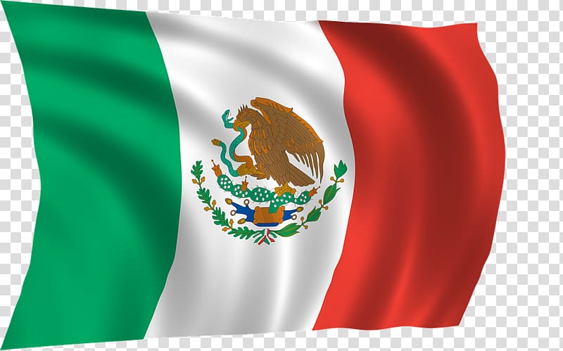 Flag of Mexico, Mexica flag transparent background PNG.