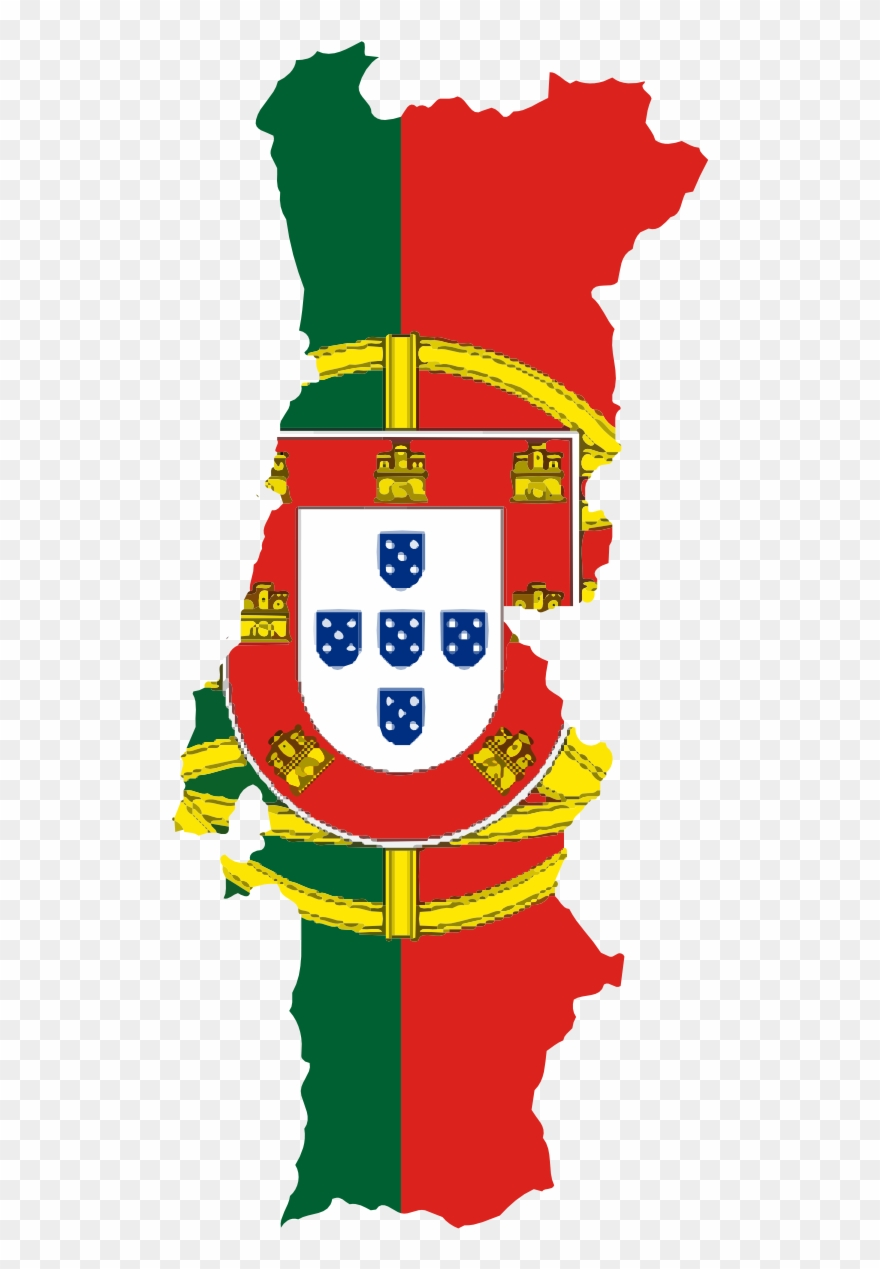 Flag Map Of Portugal Drapeau Bandiera Bandeira Flagga.