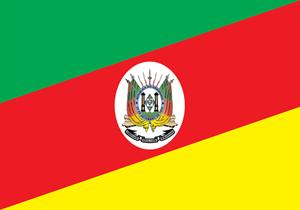 Bandeira Rio Grande do Sul Logo Vector (.AI) Free Download.