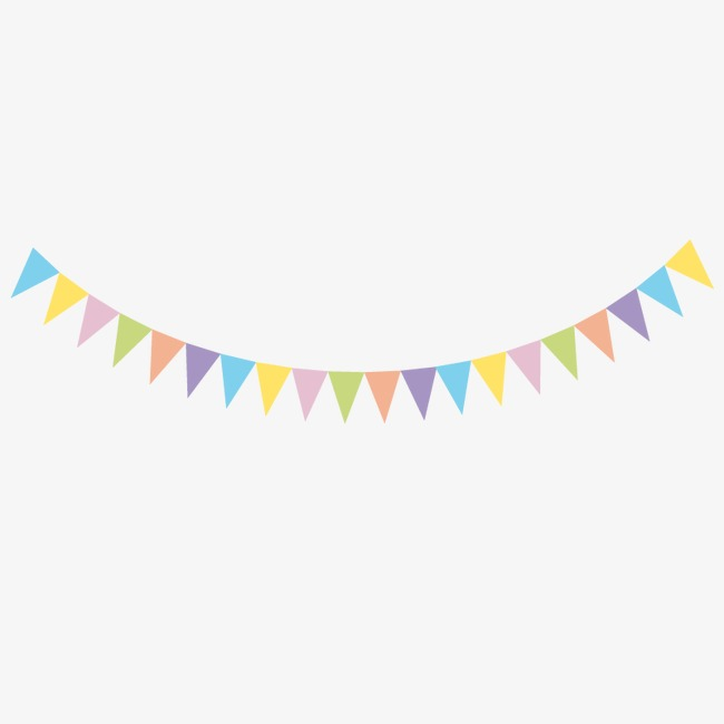 Bunting Party, Bunting Vector, Party Vector PNG Transparent Clipart.